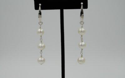 Redesigning Pearl Earrings